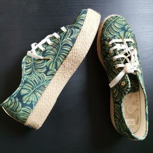 Rifle Paper Company Palm/Monstera Leaf Sneaker